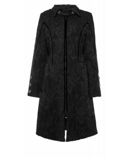Пальто из текстиля, цвет: Чёрный - купить за 4000 в магазине - Гипермаркет меха